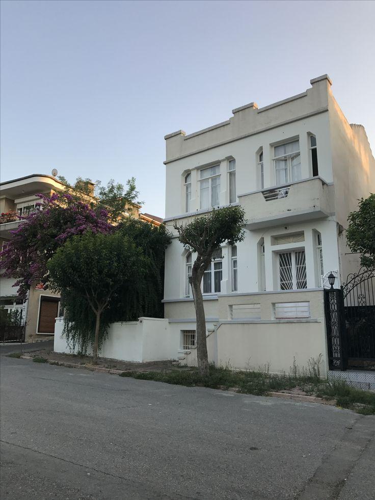 Lozan Zaferi Caddesinde ev. Heybeliada. 2017.