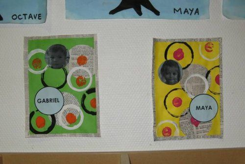 1000 ideas about tiquette porte manteau maternelle on for Decoration porte classe cycle 3