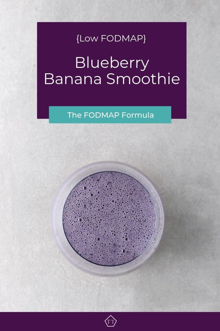 Looking for a healthy snack idea? Try this easy low FODMAP blueberry banana nut …
