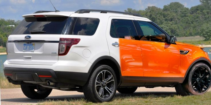 Paging Dr. Gerry McGovern - There Is A Ford Explorer Sport Here To See You