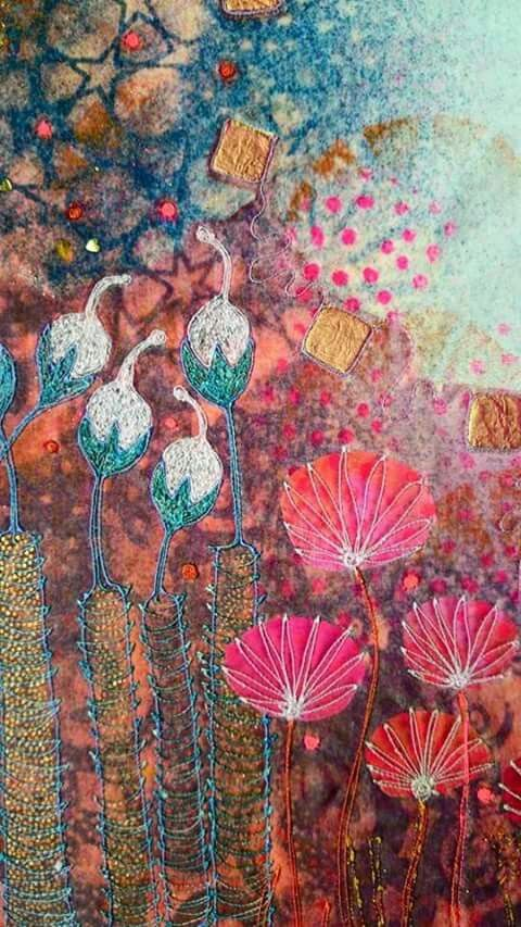 Angie Hughes Textile - detail