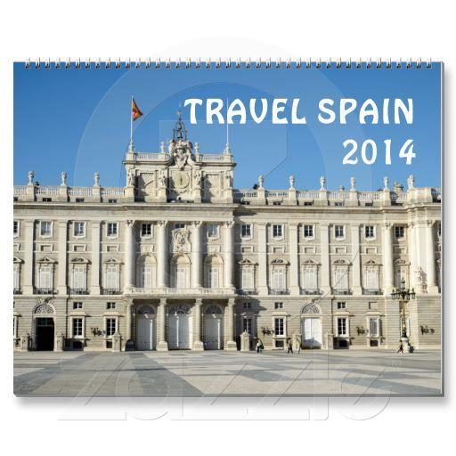 Travel Spain 2014 calendar