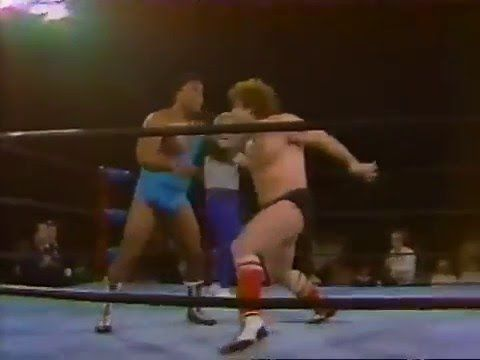 NWA TV Title - Tully Blanchard (C) vs Carlos Colon ...