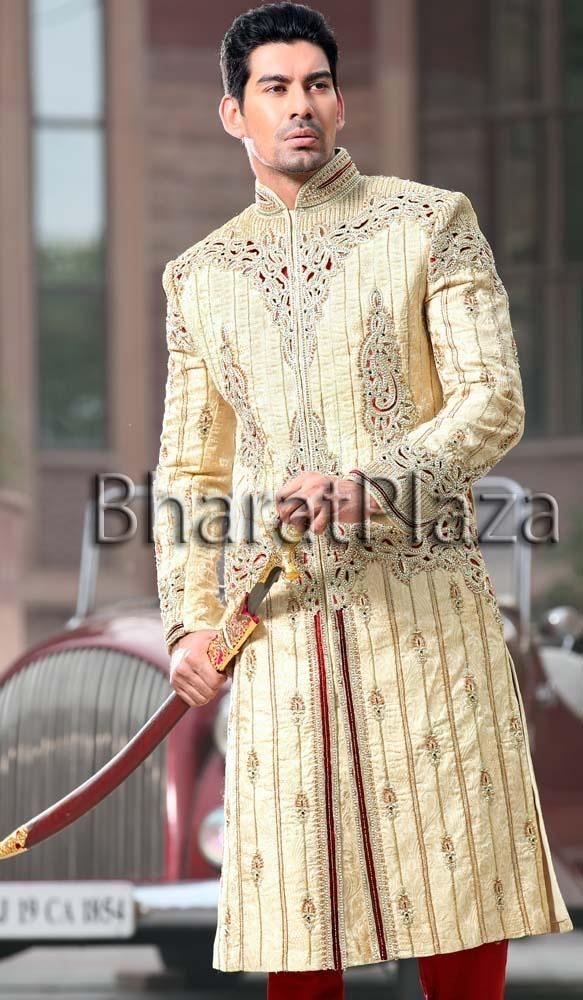 Royal Touch Groom Sherwani  Item code : SSJ8098