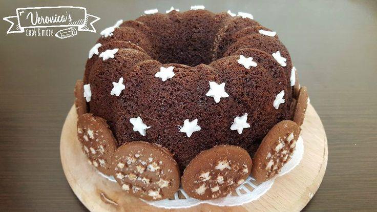 Ciambella Pan di stelle bimby
