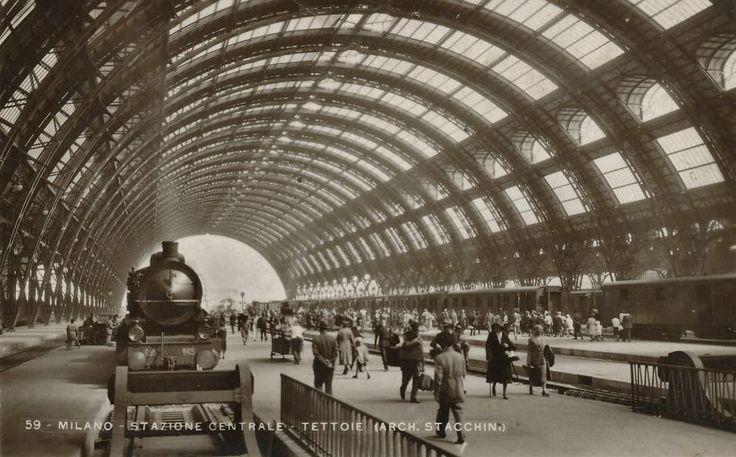 Stazione Centrale, anni 30 #milano #fotografia #storia
