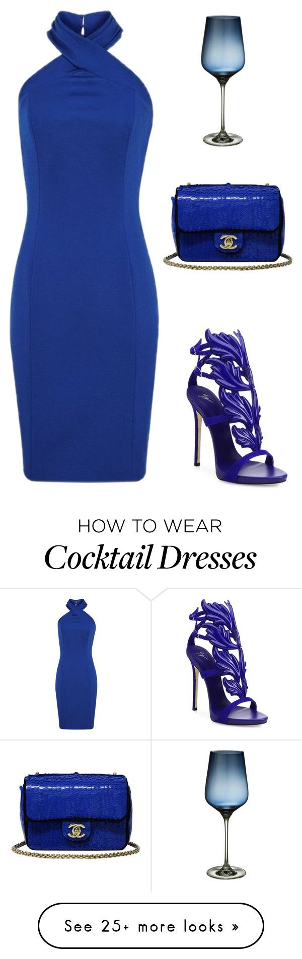 """; )"" by maddieandmaddy on Polyvore featuring Giuseppe Zanotti, Chanel and John Lewis"