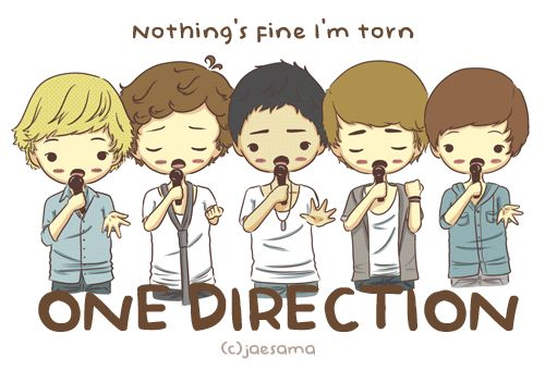 one direction cartoon | One Direction Cartoon Form Twitpic Heart - funny anime gif #8 ...