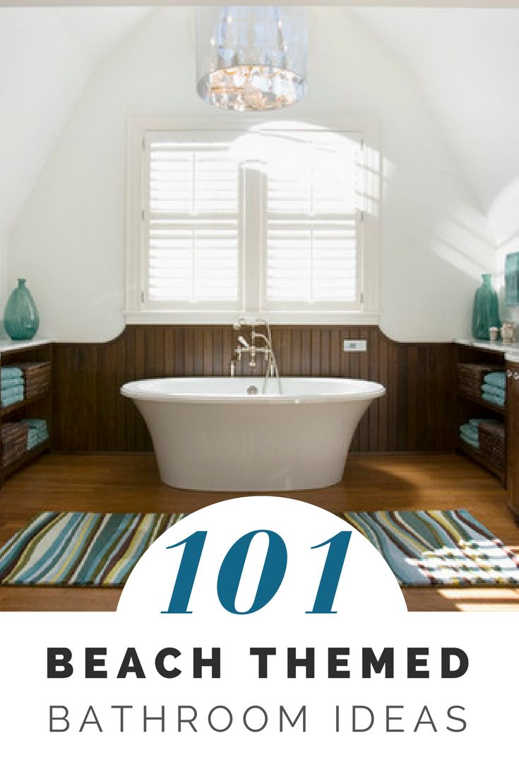 142 best Beach Themed Bathrooms images on Pinterest