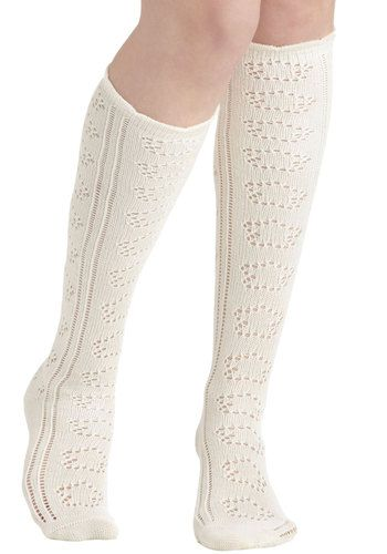 It's Tall About You Socks in Cream, #ModCloth