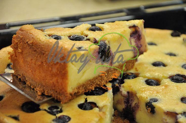 Yaban Mersinli Cheesecake Tarifi; http://oktayustam.com/tarifler/30294-yaban_mersinli_cheesecake_tarifi.html