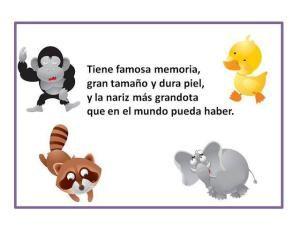 Fun Spanish activities for kids: guessing games. Juegos de adivinanza. http://carmenelenamedina.wordpress.com/adivina-adivinador/