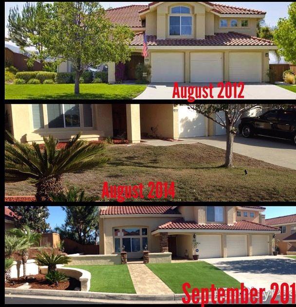 Backyard Transformation Before After: 28 Best EasyTurf: Before & After Images On Pinterest