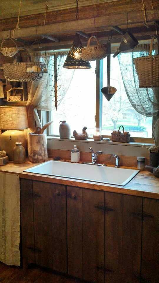480 Best Primitive Kitchen Images On Pinterest