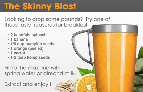 The Skinny Blast NutriBullet Recipe #foods #recipes