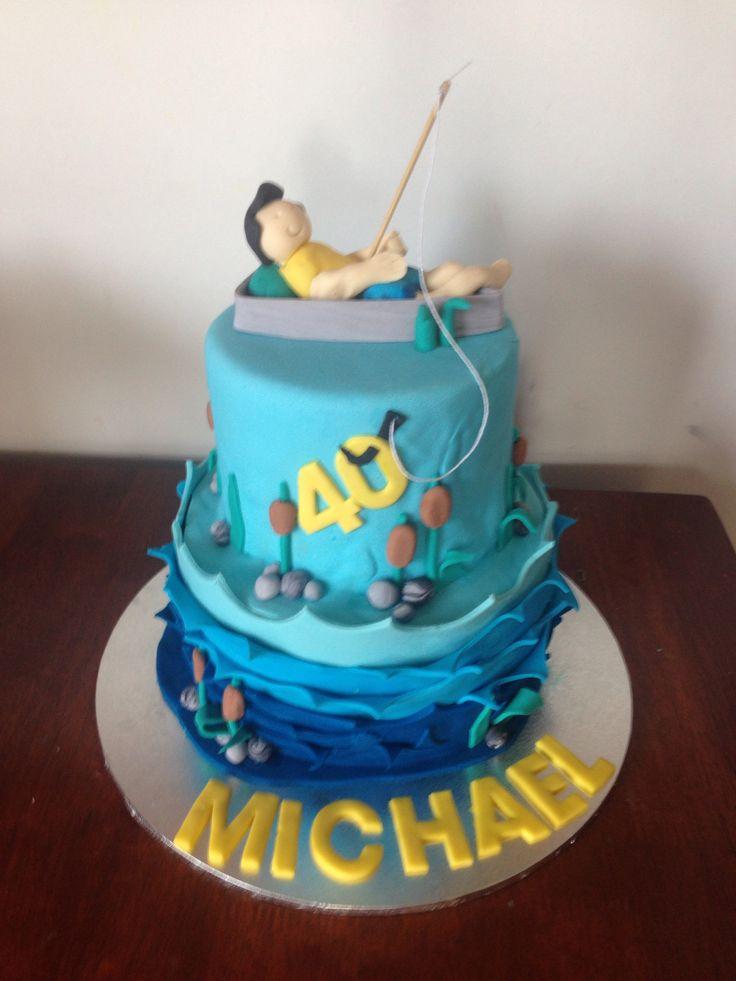 Fishing Birthday Cakes Pinterest