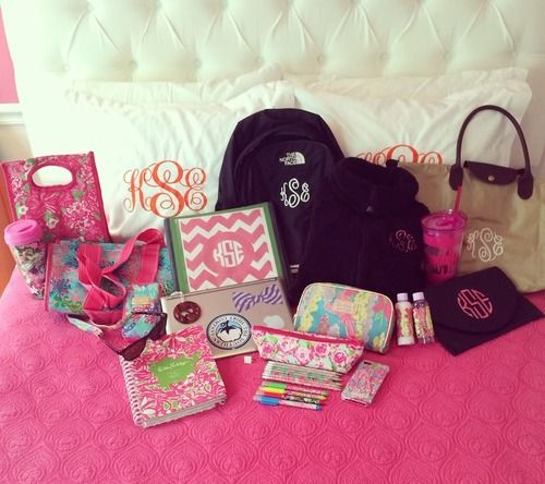 Any and everything preppy and MONOGRAMMED!!!!!