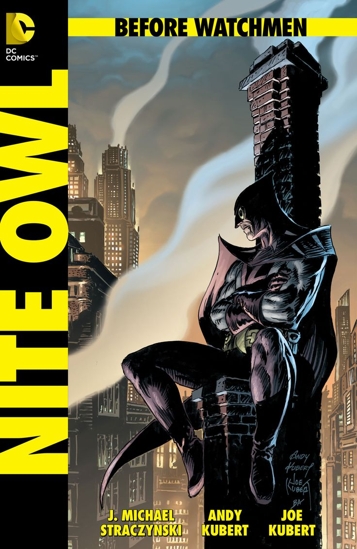 The Covers for BEFORE WATCHMEN (Nite Owl) | DC Comics