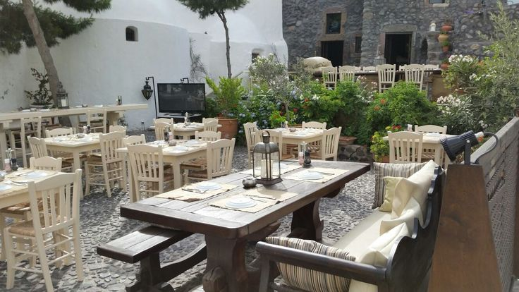 Enjoy your lunch or dinner in our terrace