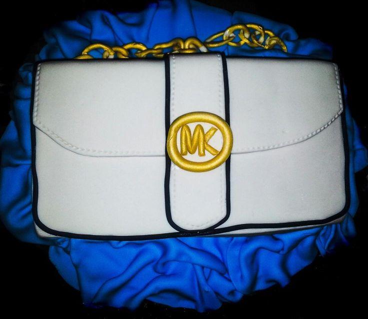Michael Kors inspired purse cake