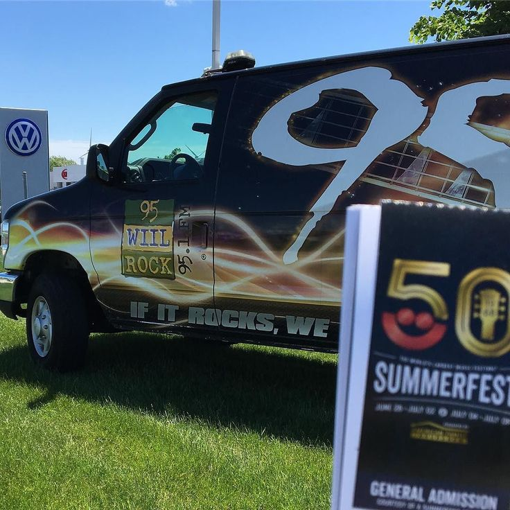 Weeee got another one! #summerfest ticket stop out at Boucher Imports in Racine? Sturtevant? Stur-Cine? Eh whatever...you have google...USE IT! We're drawing every 10 minutes til 2!