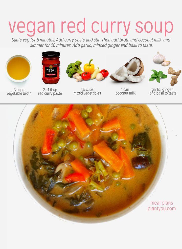 Plant Based Meal Prep Programs Vegan Curry Recipes Easy Vegan Soup Vegan Soup Recipes