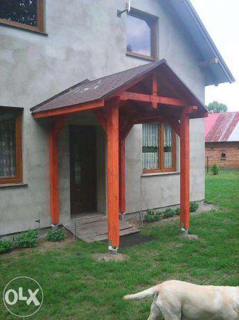 zadaszenie, daszek nad drzwiami,daszki Milicz - image 1