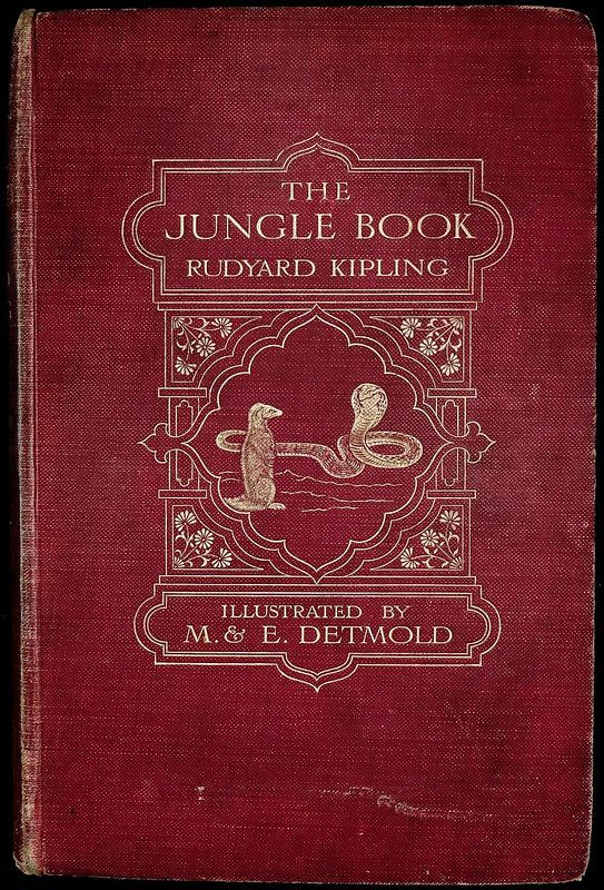 The Jungle Book... Rudyard Kipling   1909