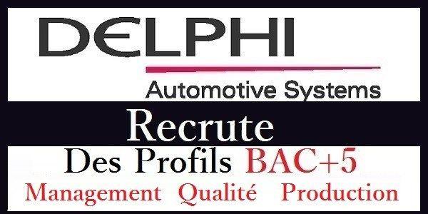 شركة Delphi Aptiv Tanger تعلن عن حملة توظيف عدة مهندسين و تقنيين في عدة تخصصات Cabinet De Recrutement Offre De Stage Site Emploi