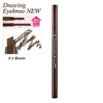 รีบเป็นเจ้าของ  Etude House ดินสอเขียนคิ้ว (New) #No.3 Brown x1ด้าม Drawing EyeBrow Duo (ตัวใหม่เพิ่มปริมาณ30%)  ราคาเพียง  127 บาท  เท่านั้น คุณสมบัติ มีดังนี้ รุ่นใหม่เพิ่มปริมาณ30% เขียนง่าย กันน้ำติดทนนาน ขนาดกะทัดรัด พกพาสะดวก