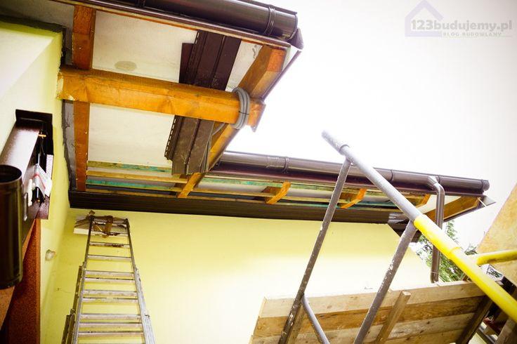 stelaż z łat podbitka dachowa podbitka dachowa pcv - Podbitka, Podbitka Pcv…