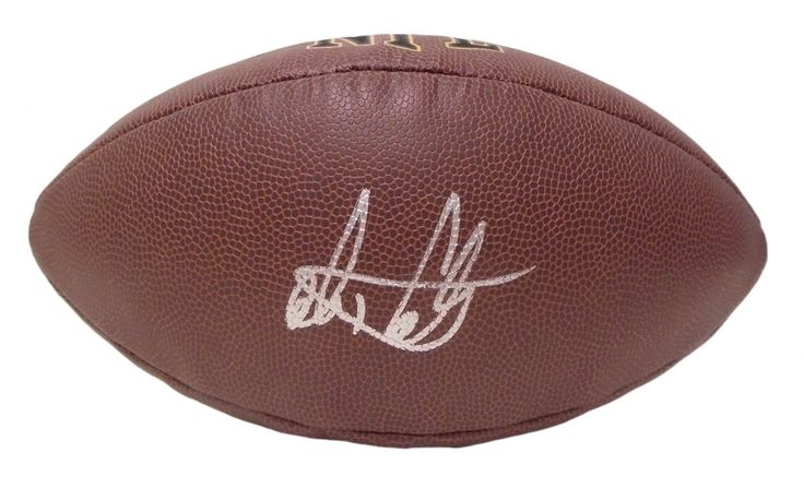 Alex Collins Autographed NFL Wilson Composite Football, Proof Photo. Alex Collins Signed NFLFootball, Seattle Seahawks, Arkansas Razorbacks, Proof  This is a brand-new Alex Collins autographed NFL Wilson composite football. Alex signed the footballin silver paint pen.Check out the photo of Alex signing for us. ** Proof photo is included for free with purchase. Please click on images to enlarge. Please browse our websitefor additional NFL & NCAA footballautographed collectibles.2…