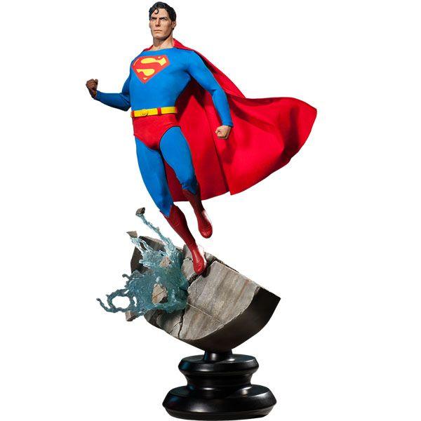 [SIDESHOW] 【プレミアムフォーマット】 『スーパーマン』 1/4スケールスタチュー スーパーマン|スーパーマン/クラーク・ケント|スーパーマンの最安値