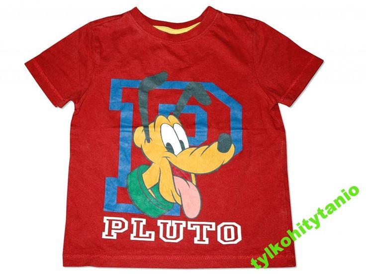 Disney pluto  t-shirt bluzka 4/5 lat 110 cm