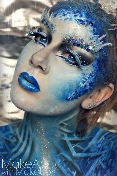 VIDEOTUTORIAL Ice Queen https://www.makeupbee.com/look.php?look_id=94349