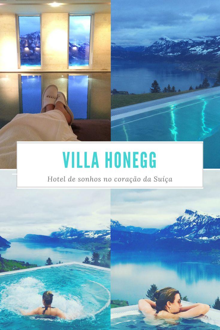 Conheça o Villa Honegg, um hotel de sonhos no coração da Suíça. Piscina aquecida de borda infinita com vista para os Alpes. Saiba como passar um dia nesse paraíso e confira a nossa experiência em um Day Spa no Villa Honegg.