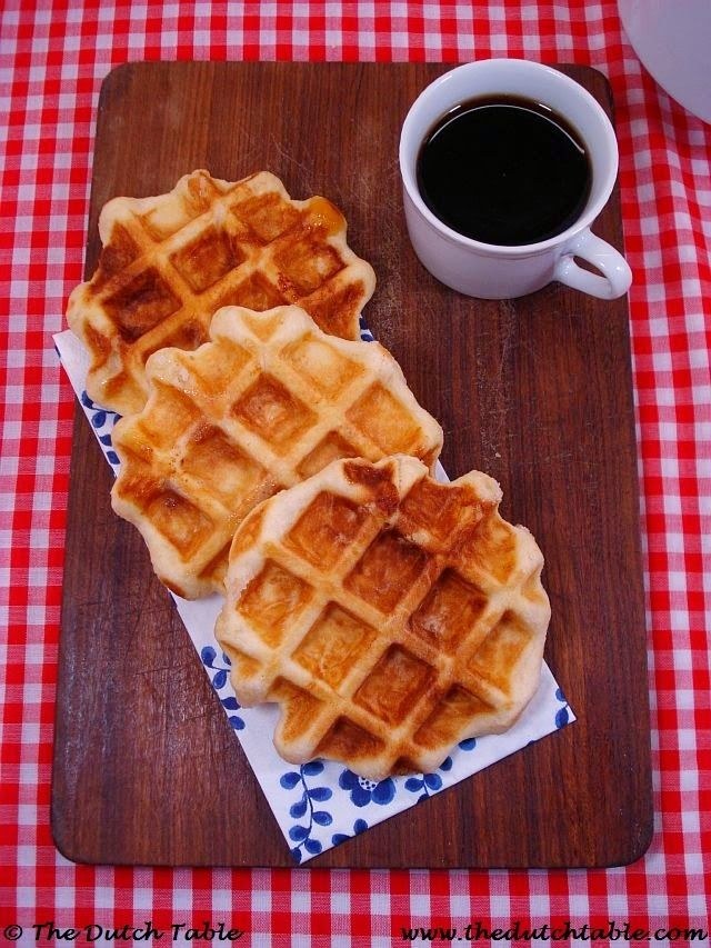 The Dutch Table: Suikerwafels (Dutch Sugar Waffles)