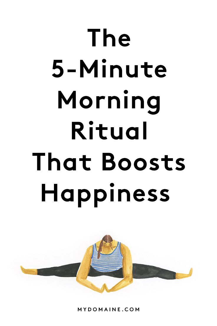 The simple morning workout routine you should adopt for a healthier and happier life: