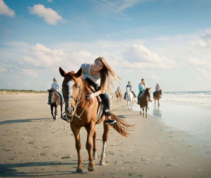 BUCKET LIST: horseback riding in North Myrtle Beach on   a plantation
