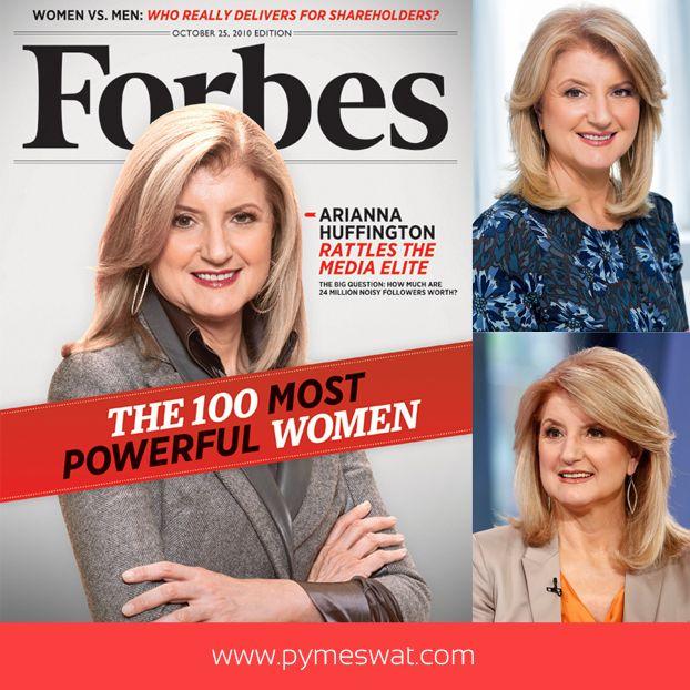 #PymeBio Arianna Huffington escritora y columnista estadounidense de origen griego. Cofundadora de la web #TheHuffingtonPost. Según #Forbes, una de las mujeres más influyentes en los medios de#comunicación. #Éxito