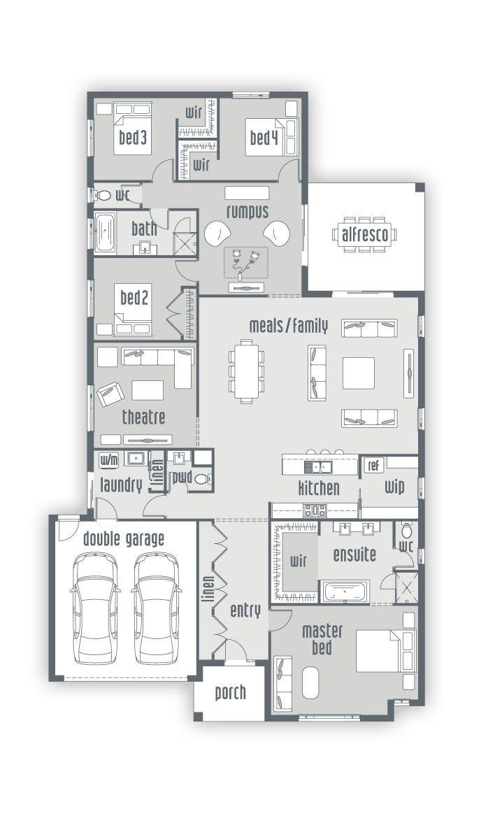 Building House Solander | New Home Designs | Urbanedge Homes - Melbourne Builders