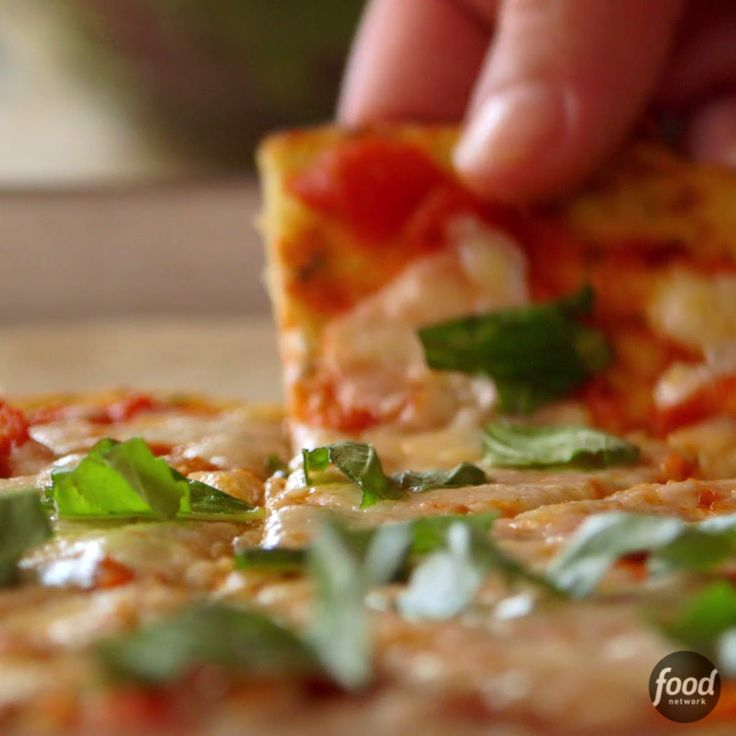 Ree's Cauliflower Crust Pizza is an easy, low-carb way to enjoy your favorite food!