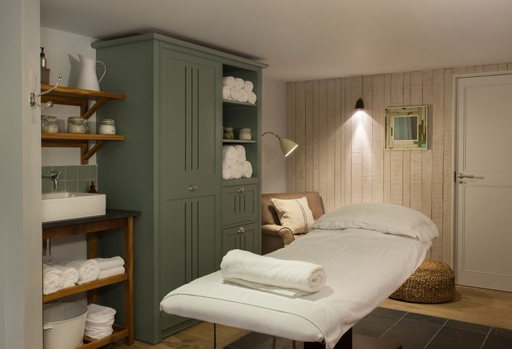 Treatment Room at Watergate Bay Hotel, Cornwall.