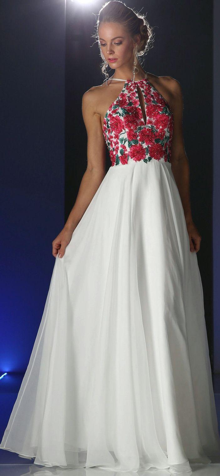 Best 25+ Floral prom dress long ideas on Pinterest
