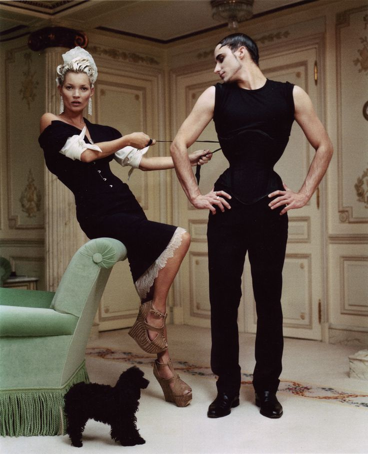Kate Moss at The Ritz in Paris, photographed by Tim Walker and styled by Grace Coddington for Vogue US