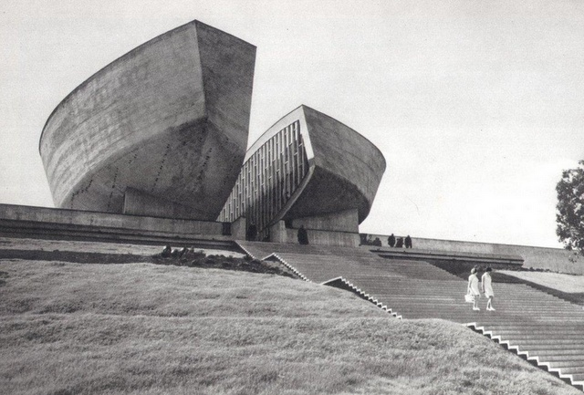Museum of the Slovak Uprising,  Banska Bystrica, Slovakia,  Dusan Kuzma,  1969