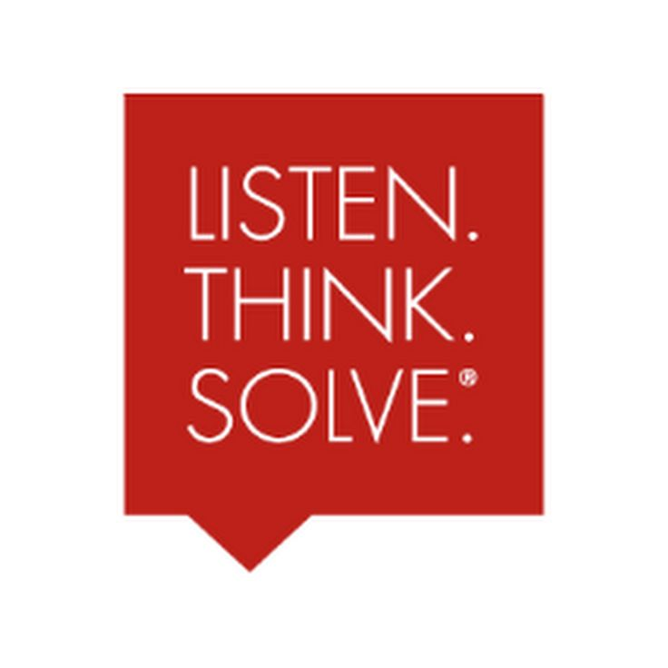 Rockwell Automation's motto is Listen, Think, Solve.  If only more us did this, the world would be a better place.
