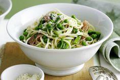 Vetarme diëten zijn erg populair geworden! Vandaag hebben wij zo'n vetarm recept! Een heerlijke vetarme spaghetti met champignons en prei!
