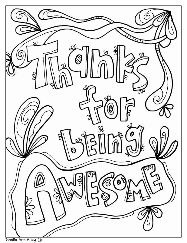 teacher appreciation week 2013 coloring pages | Celebrate School Principal Day and Month with fun ...