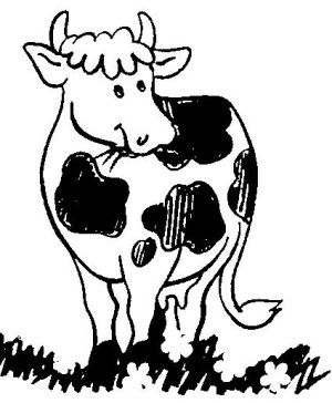 The 25 Best Cow Coloring Pages Ideas On Pinterest Farm Coloring Cow Color
